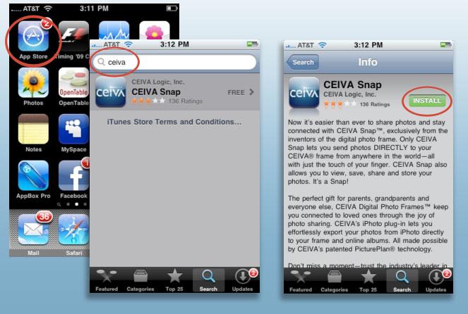 How Do I Install A CEIVA App On My IOS Phone Or Device (iPad/iPhone)?