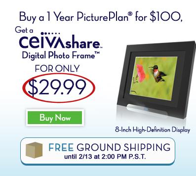 CEIVAshare Digital Photo Frame