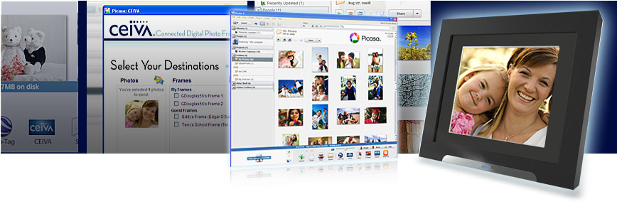 CEIVA Sender for Picasa Plugin