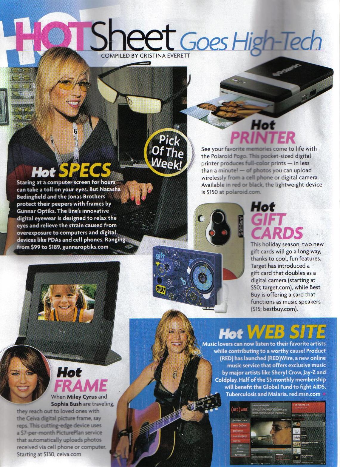 when miley cyrus and sophia bush are traveling they reach out to loved ones with the ceiva digital picture frame